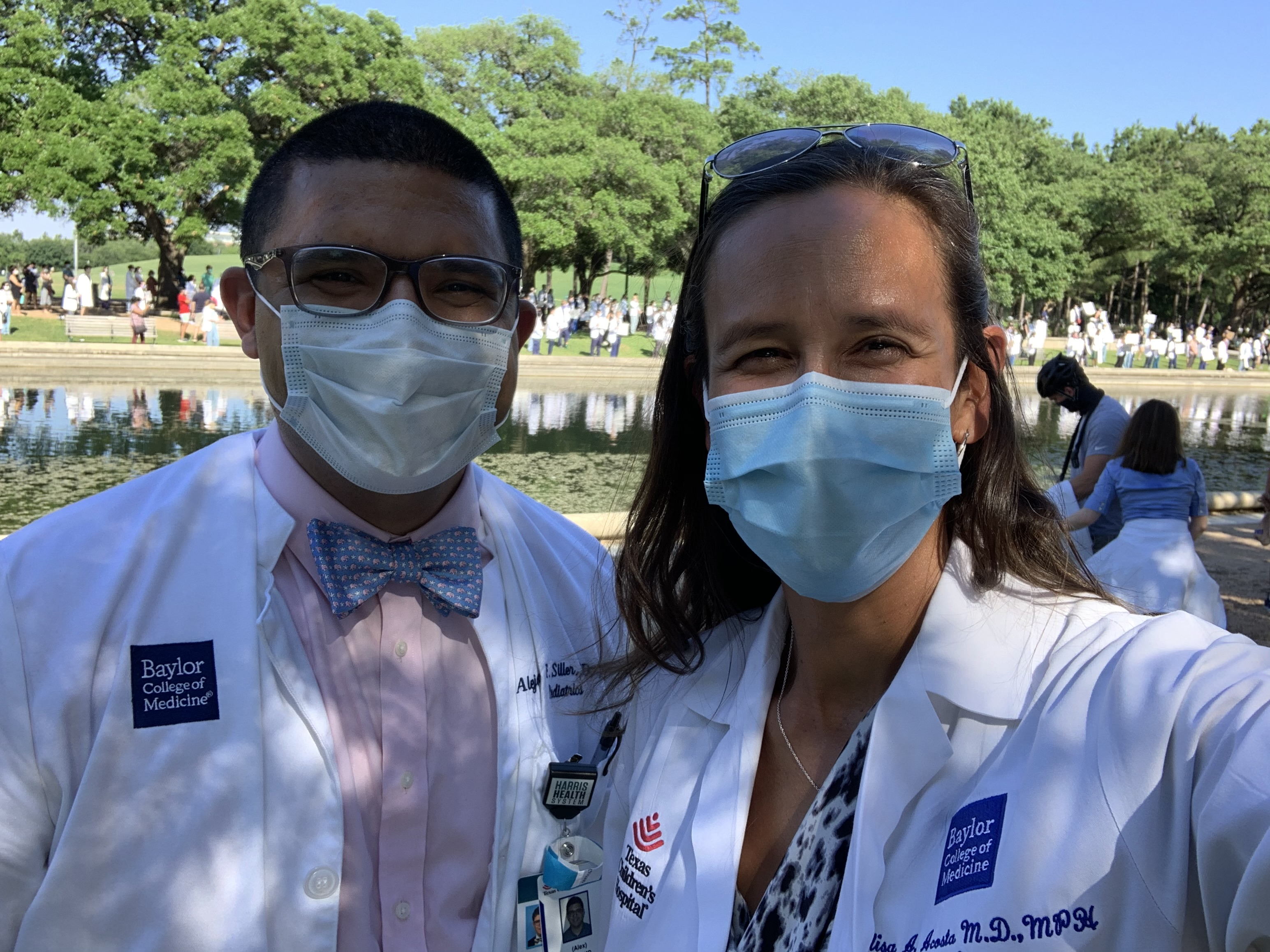 Pediatric Residents, Drs. Acosta and Siller