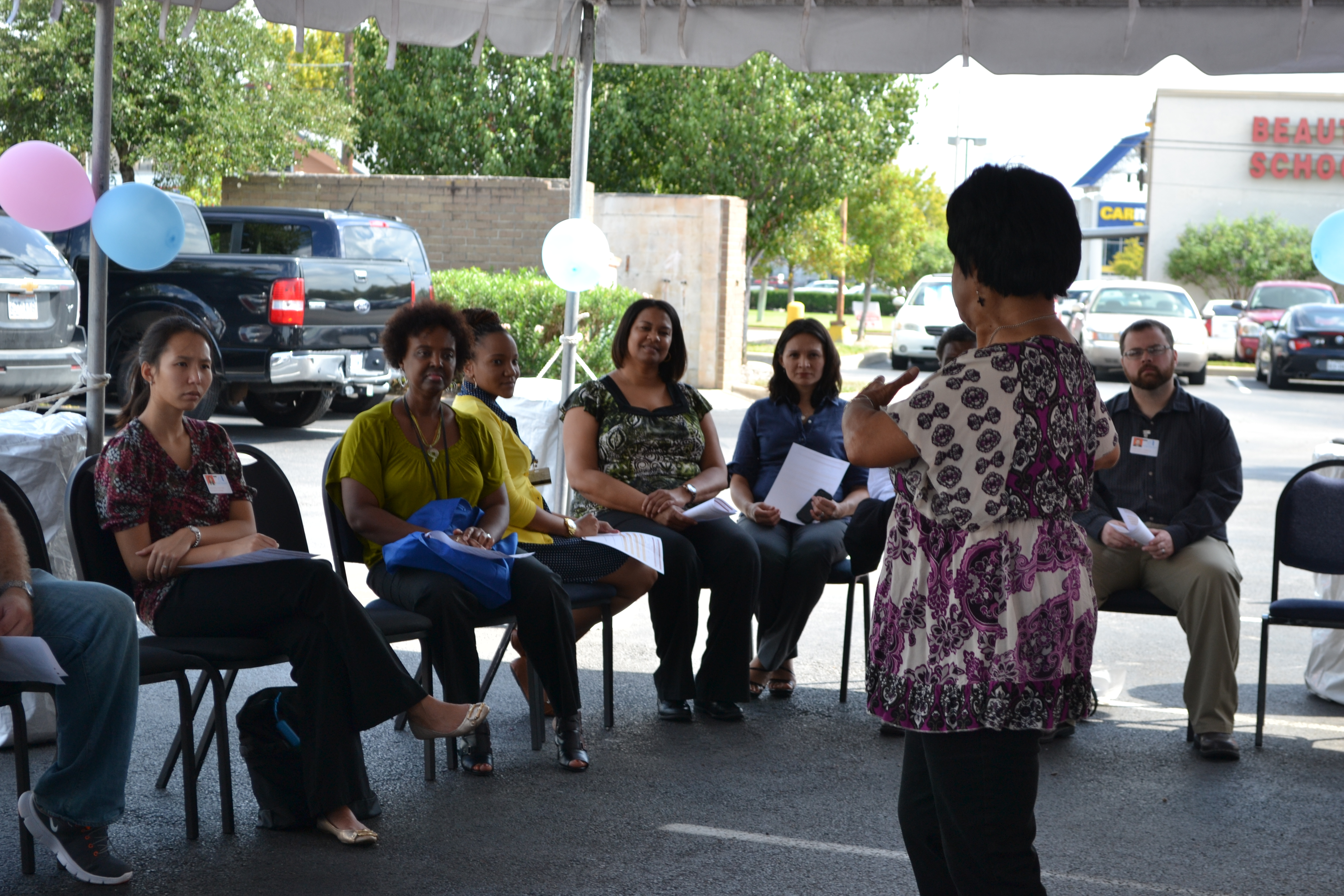 The Office of Outreach and Health Disparities seeks to increase awareness of cancer and cancer screening, understanding the vital role that outreach and involvement play in the community.