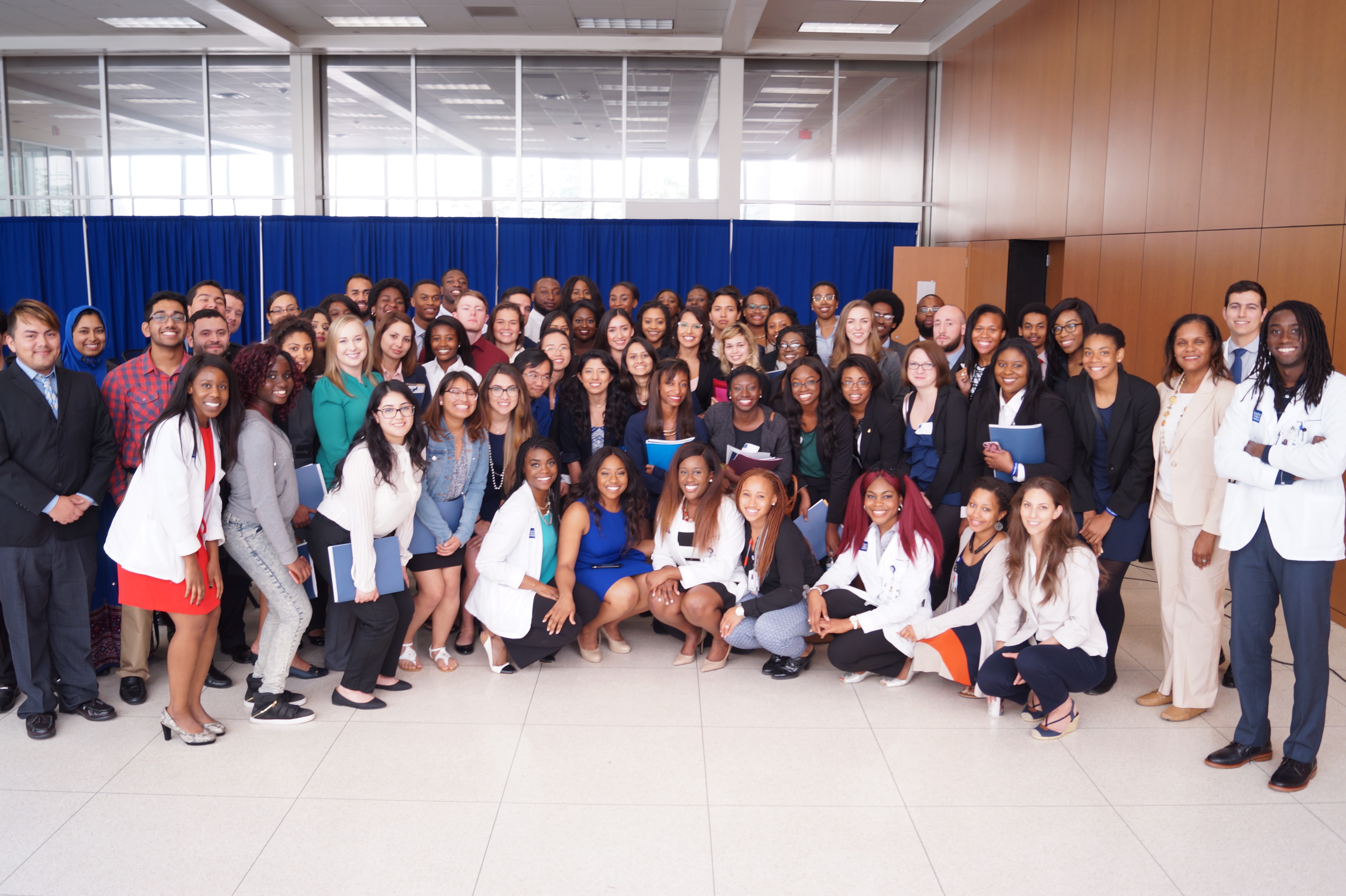 Group photo of the attendees for the 2017 Diversity Admissions Symposium