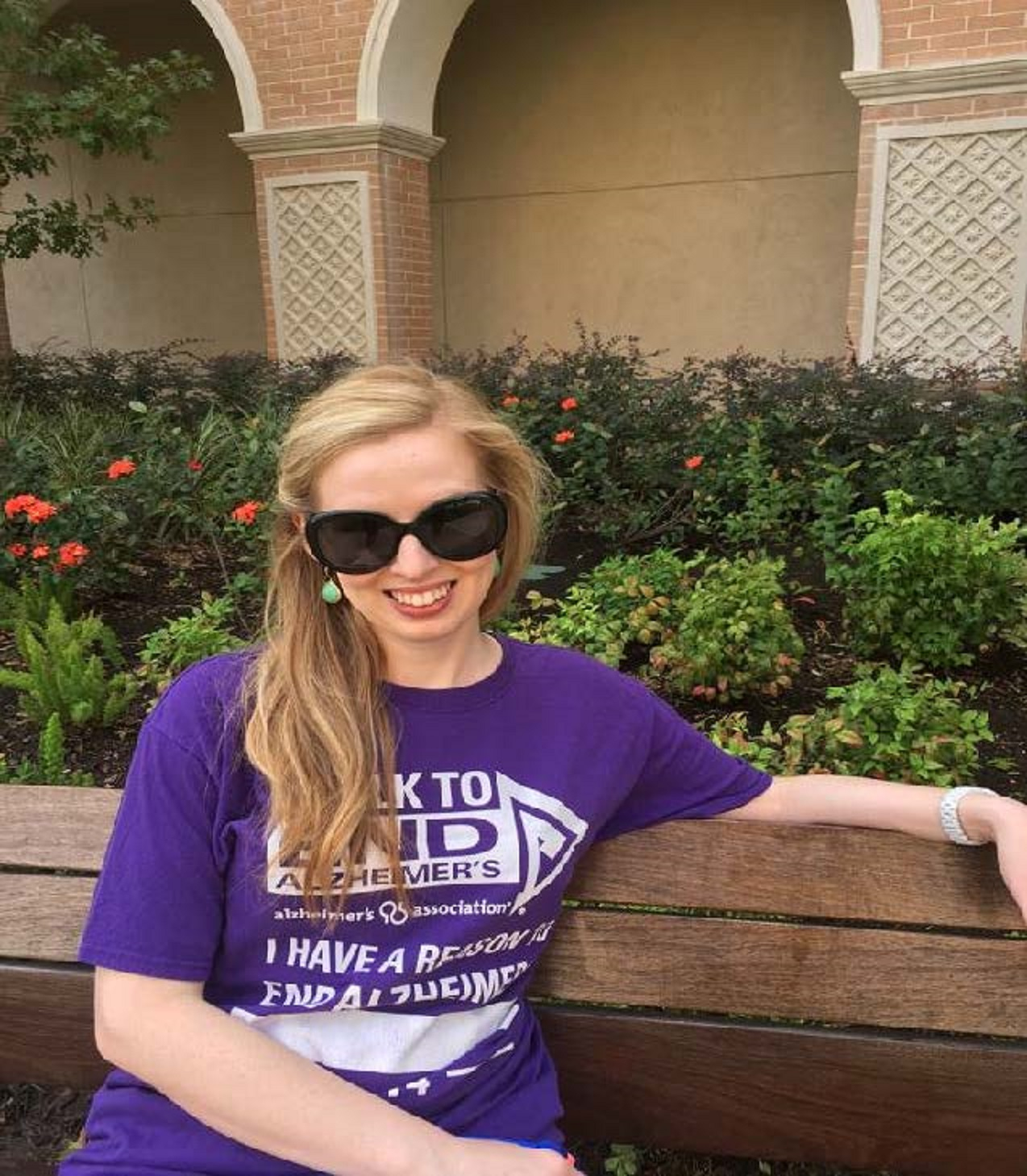 We participate in the Houston walk organized by the Alzheimer's Association in order to raise awareness and fundraise for Alzheimer's research.