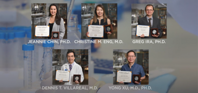 Michael E. DeBakey M.D. Award for Excellence in Research