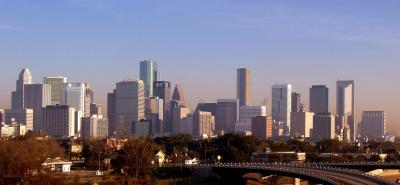 The Houston skyline