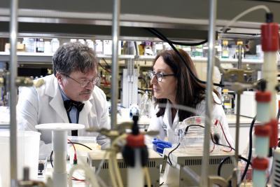 Dr. Peter Hotez and Dr. Maria Elena Bottazzi