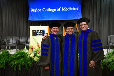Baylor College of Medicine graduation 2021