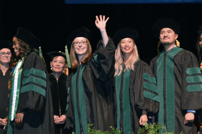Baylor College of Medicine's 2019 Commencement was held Tuesday, May 28, marking the graduation of 158 students from the School of Medicine and 103 from the Graduate School of Biomedical Sciences.