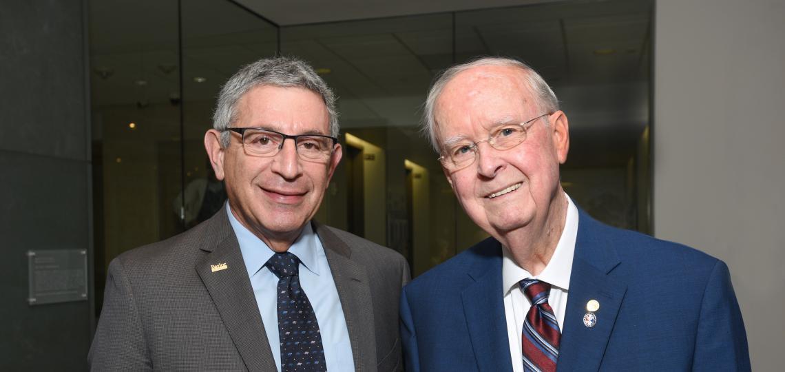 Dr. Paul Klotman and Dr. Tom J. Rosenbalm
