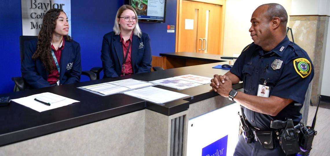 Front Desk Security Staff