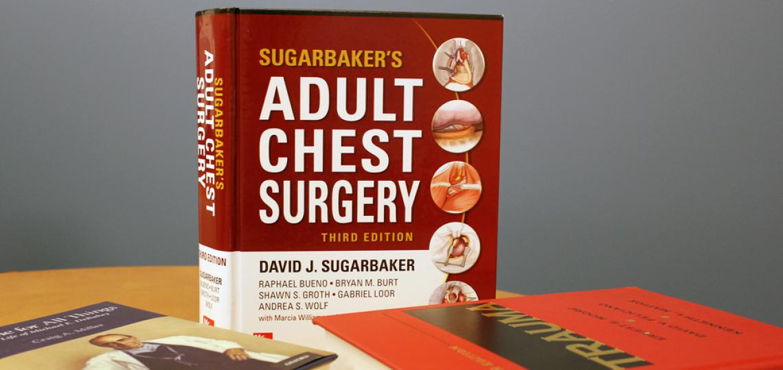 A picture of the Sugarbakers' Adult Chest Surgery book