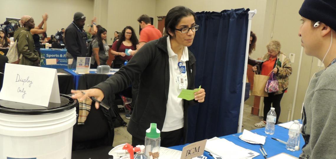 University of Houston Downtown Health Fair