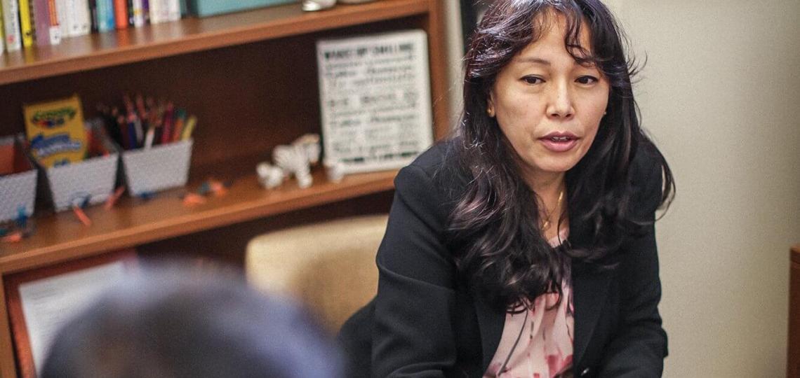 Sophia Banu, M.D. directs Harris Health System's Clinic for International Trauma Survivors.