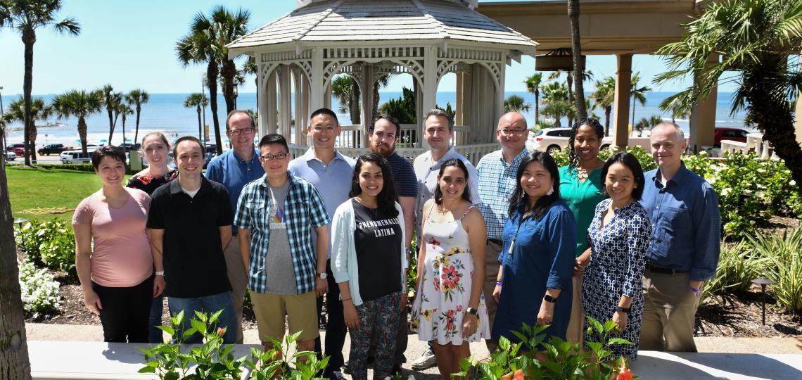 Pediatrician-Scientist Program Residents at Orientation Retreat