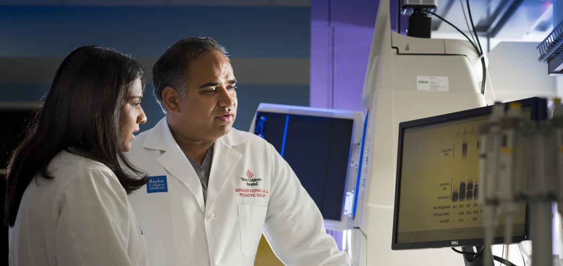 Dr. Sundeep Keswani Lab