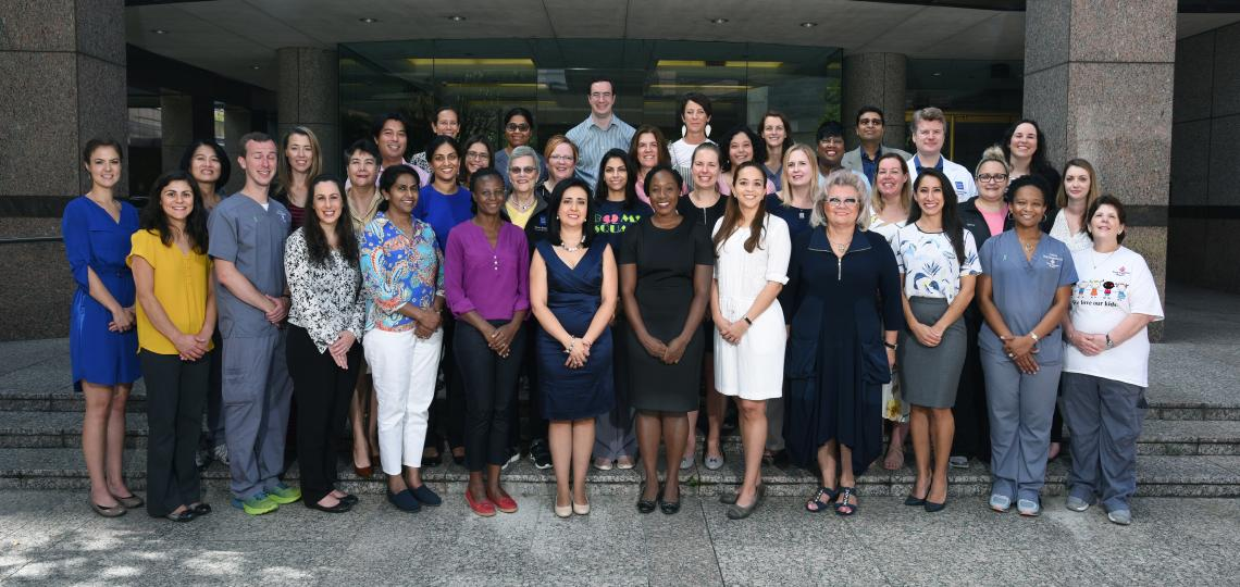 Fellows, faculty and staff of the Pediatric Nephrology Fellowship Program