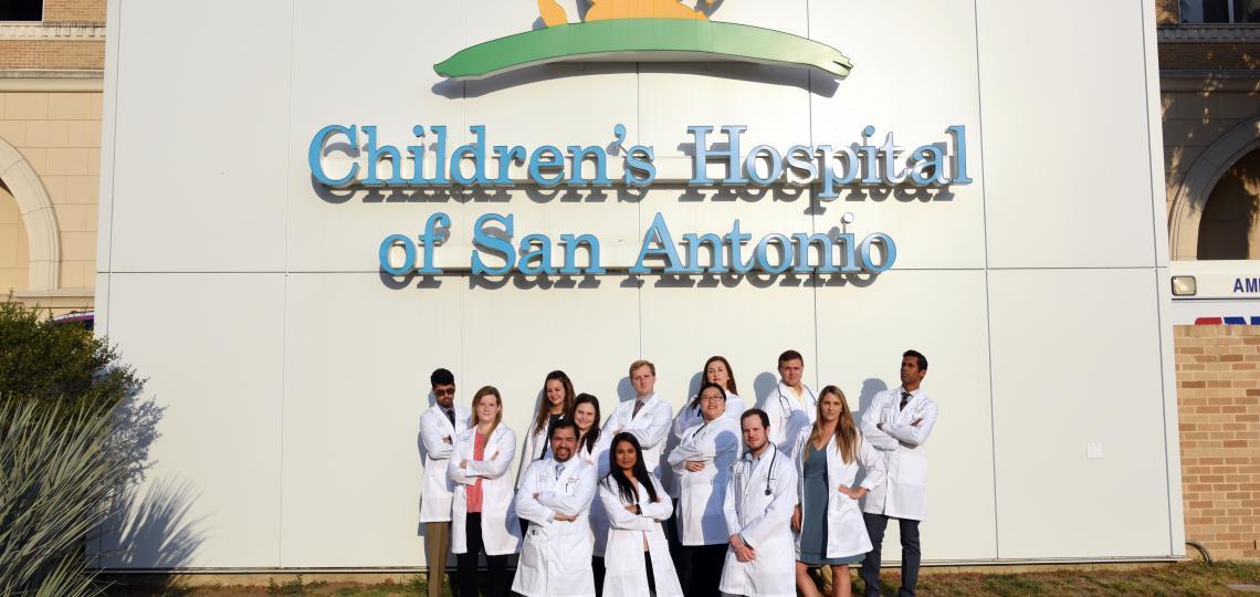 Class of 2021 fellows in the Pediatric Fellowship program in San Antonio