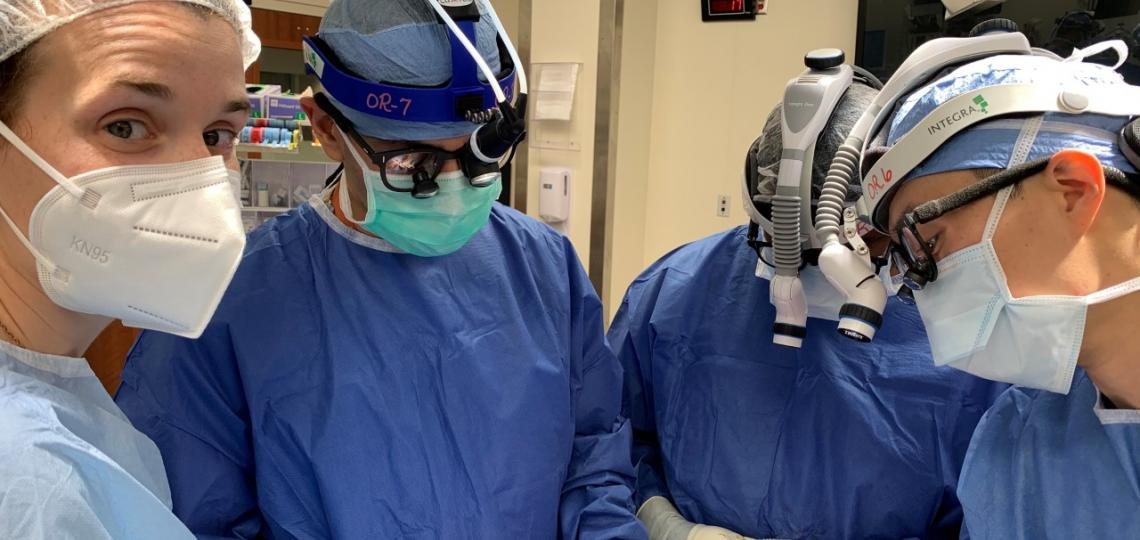 Otolaryngology Residents in training