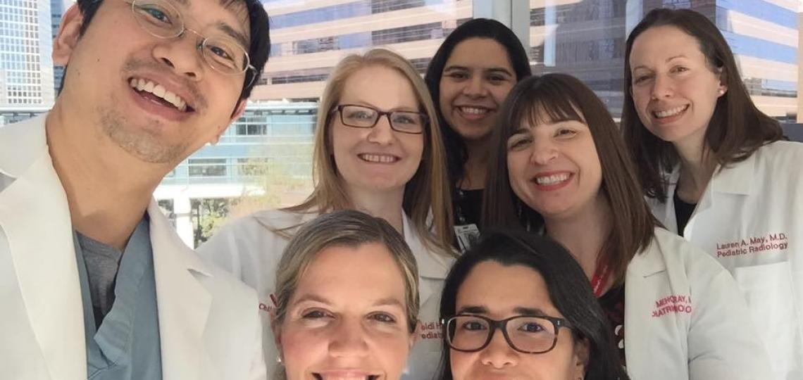 Pediatric Radiology Fellows Class of 2017