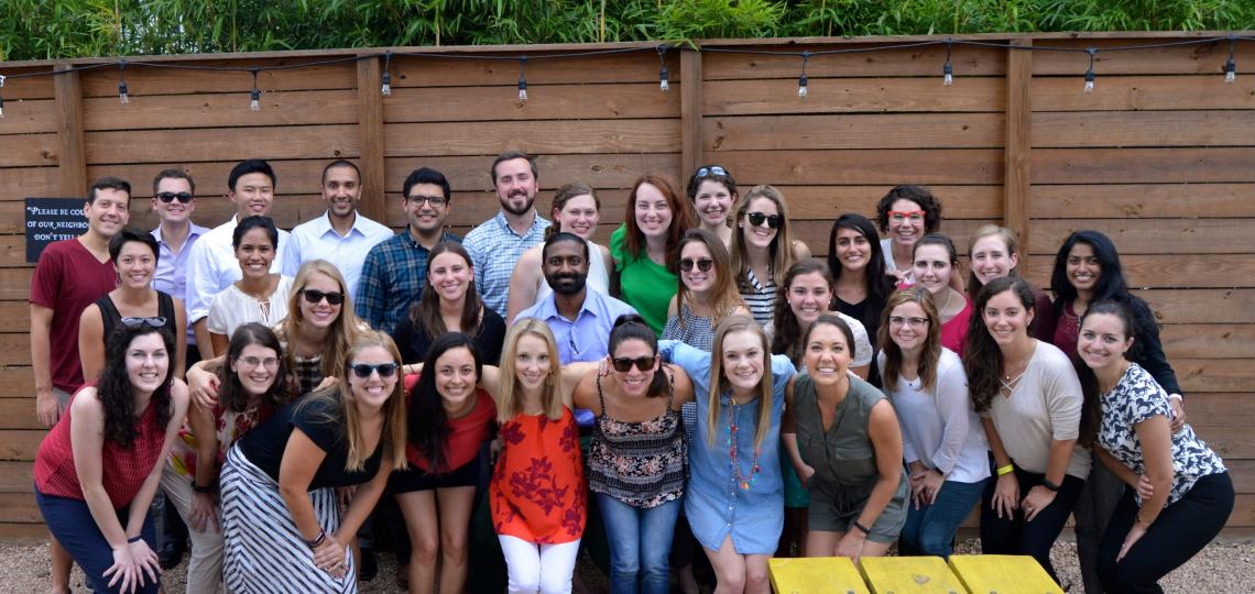 Members of the Pediatric Residents Resilience Team