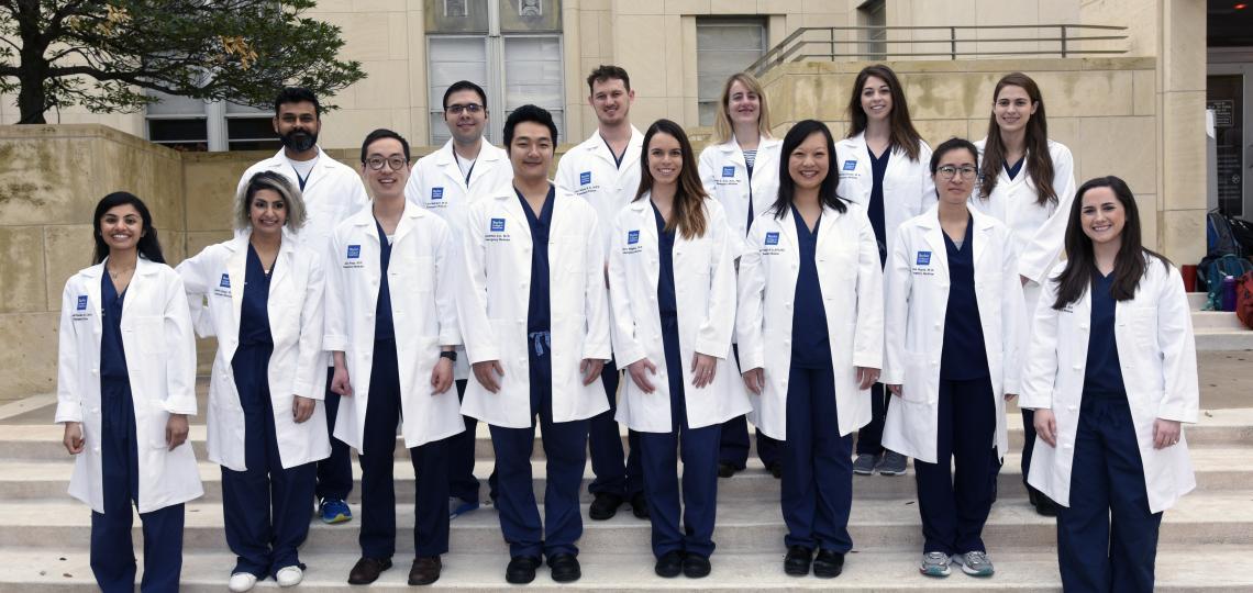 Emergency Medicine Residency Class of 2020