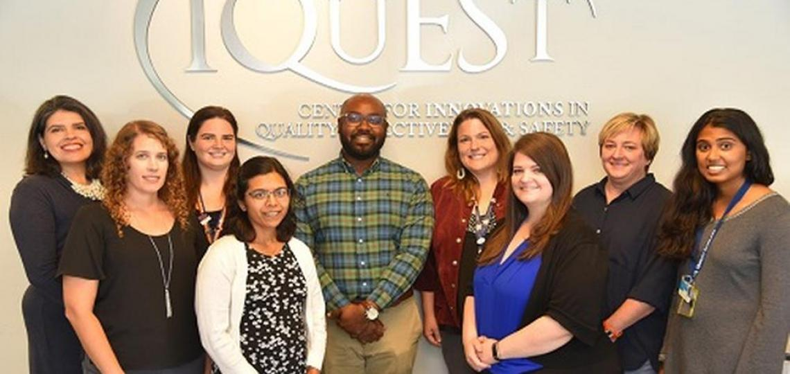 A group picture featuring 2019 IQuESt fellows