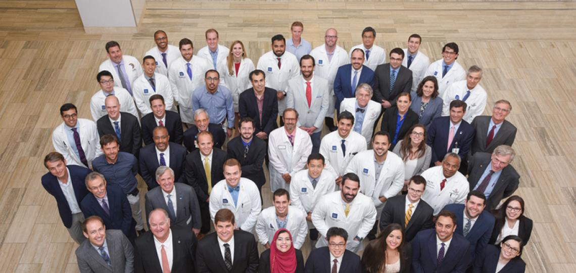 Orthopedics faculty and residents