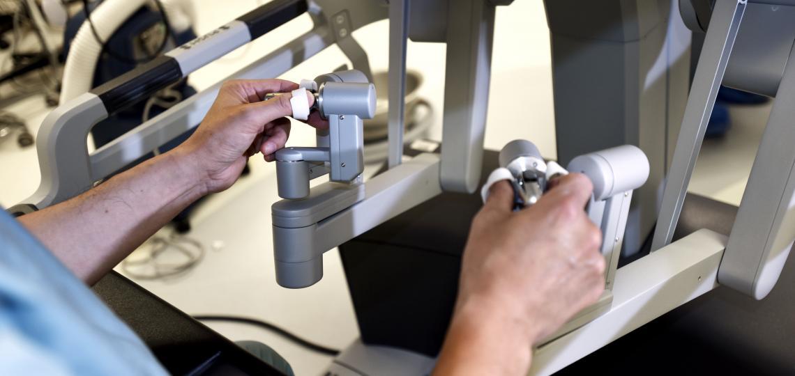Robotic cardiac surgery