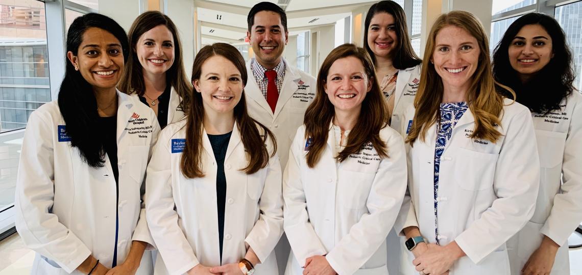 First-Year Fellows: Pediatric Critical Care Medicine Fellowship