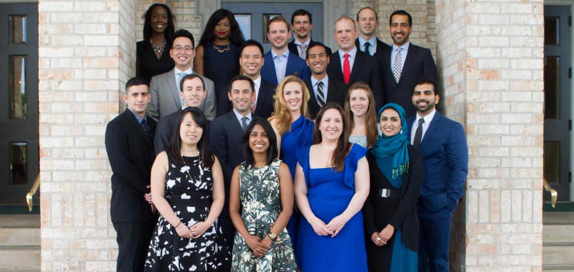 Class of 2015 - Anesthesiology Residents