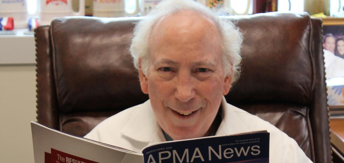Dr. Jeffrey A. Ross APMA News