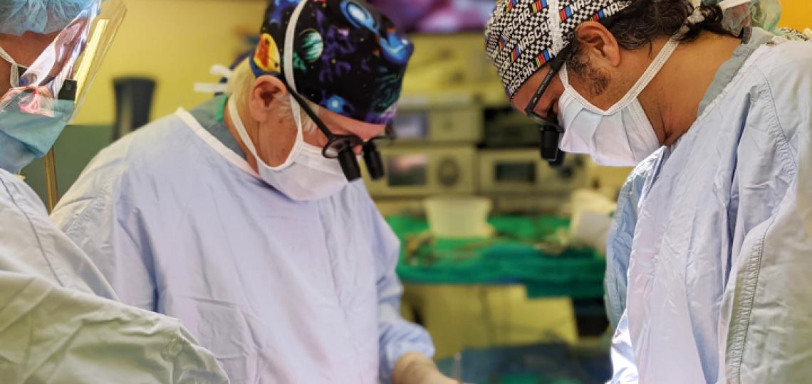 Drs. Joseph Coselli and Vicente Orozco-Seville