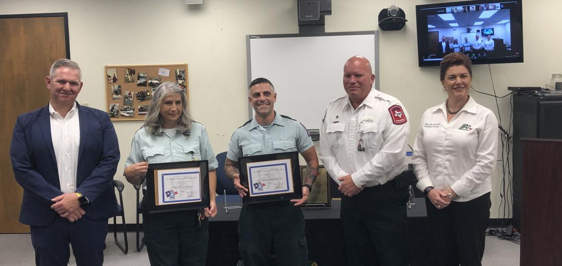 EMS for Children 2020 Crew of the Year Award Recipients
