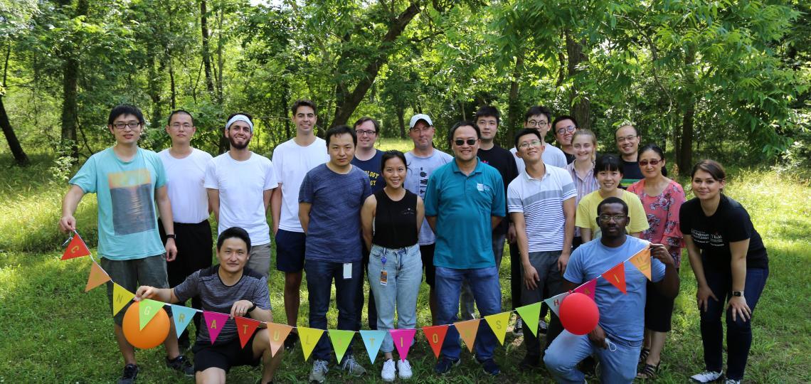 Photo of Xiang Zhang lab members