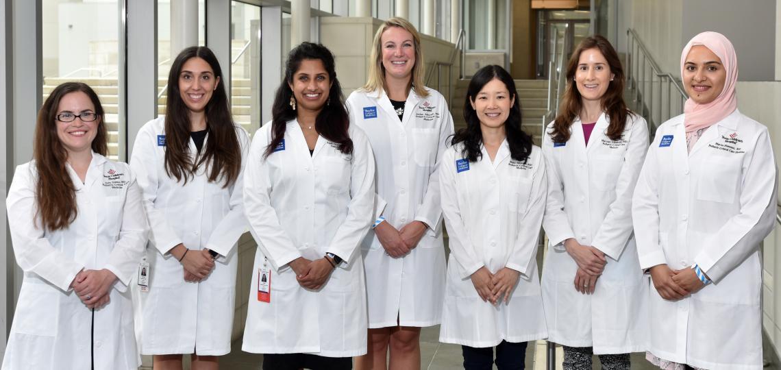 Pediatric Critical Care Fellows first years 2021