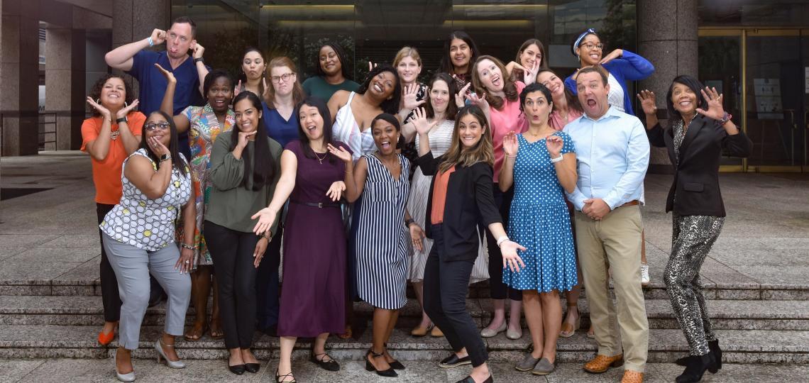 Group photo of the 2021 Pediatric Emergency Medicine Fellows
