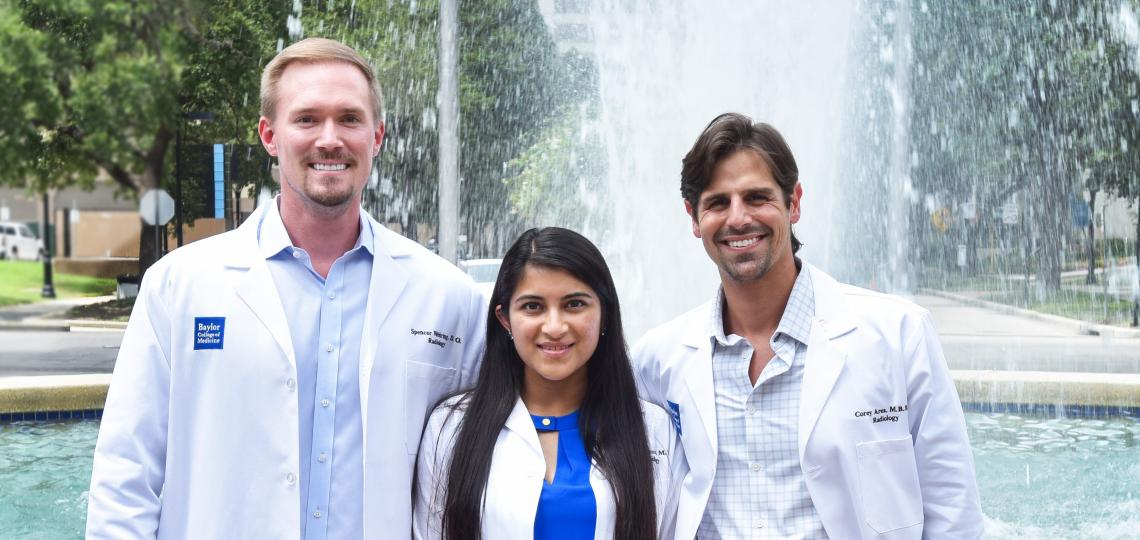 Diagnostic Radiology Chief Residents for 2021-2022