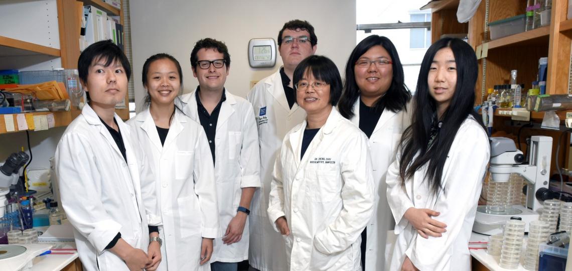 Zheng Zhou Lab Members