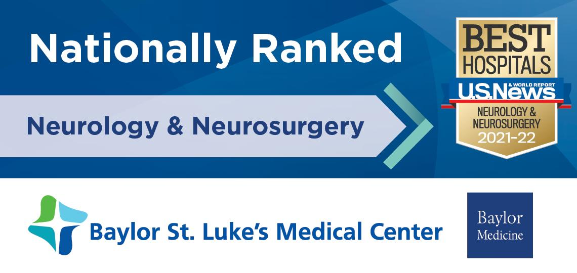 Neurosurgery and Neurology USNWR Banner 2021
