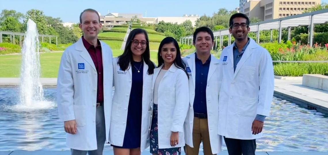 Internal Medicine Chief Residents White Coat Day