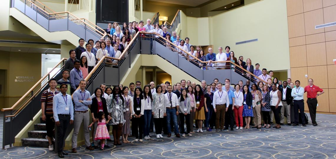 Group photo from the Graduate Program in Immunology 2017 Annual Retreat.