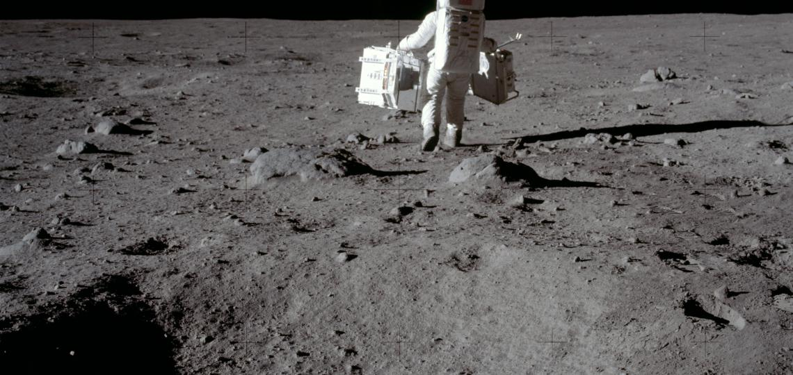 On July 20, 1969, the America's Apollo 11 landed on the moon, making history as the first humans set foot on another world.