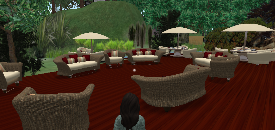 Cafe on the GoWoman Island