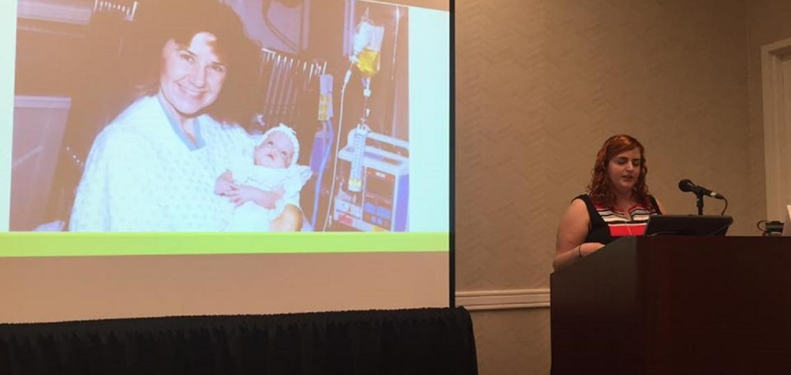 One of first babies to ever receive ganciclovir treatment speaks about her experience growing up deaf from congenital CMV at the Public Health & Policy Conference on September 26 – 27, 2016 in Austin, TX.