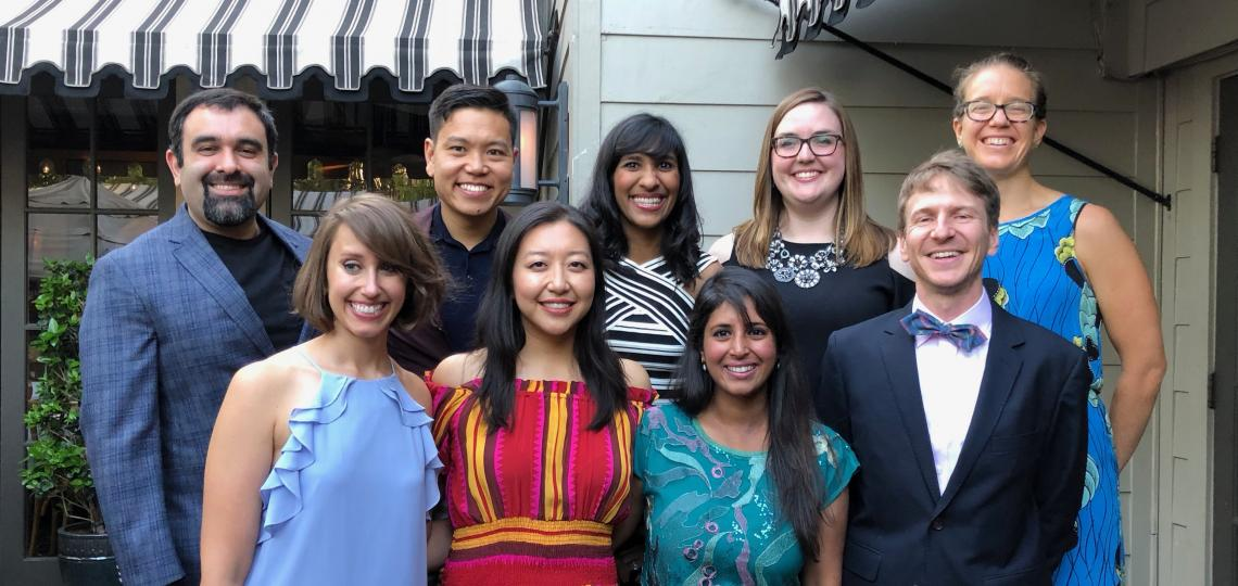 Graduates of Med-Peds residency from 2018