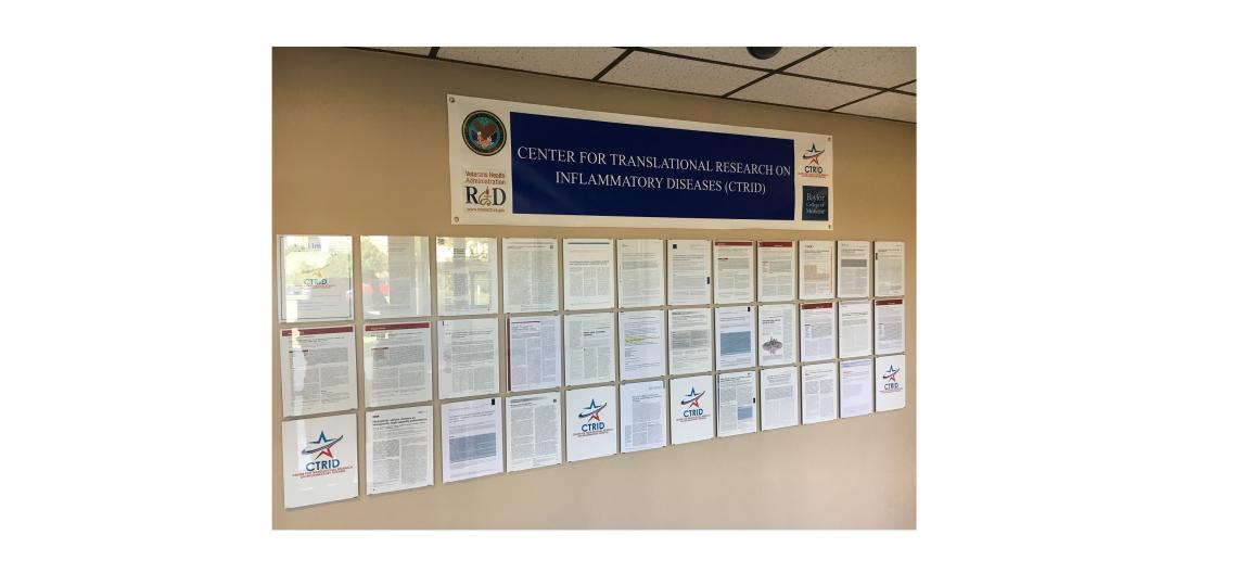 CTRID Wall of Recognition
