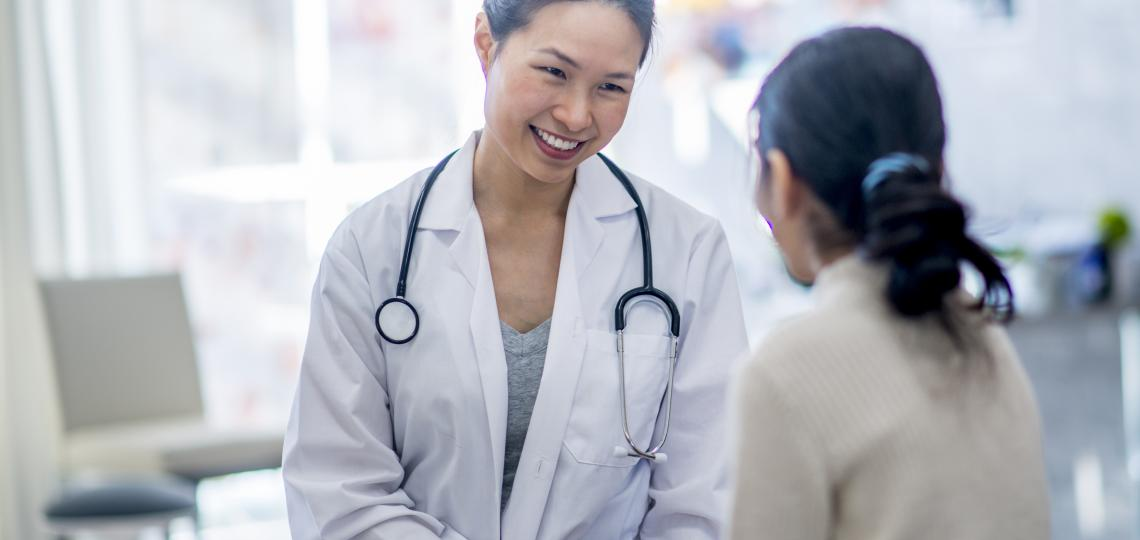 doctor and female patient