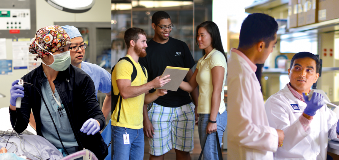 We work with students and trainees from all Baylor programs to support them in preparing for the next phase of their career.