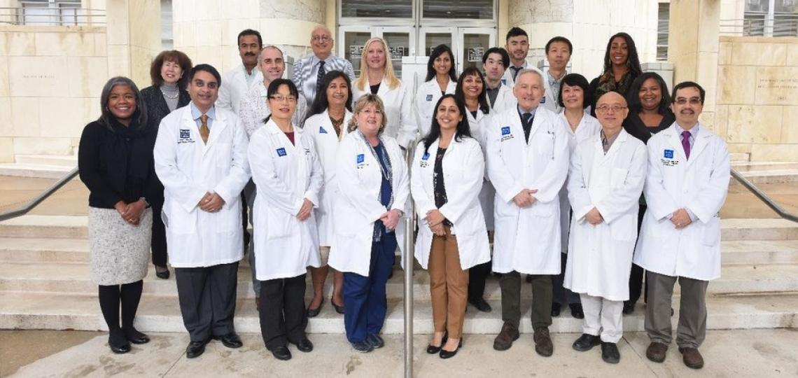 Section of Endocrinology faculty and staff group - 2018