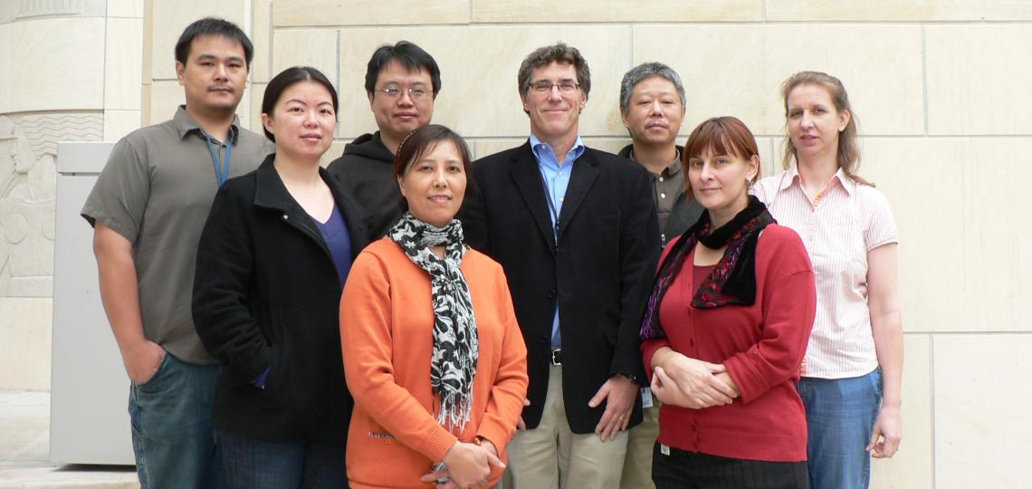 A group photo of the Michael Ittmann Lab Members.