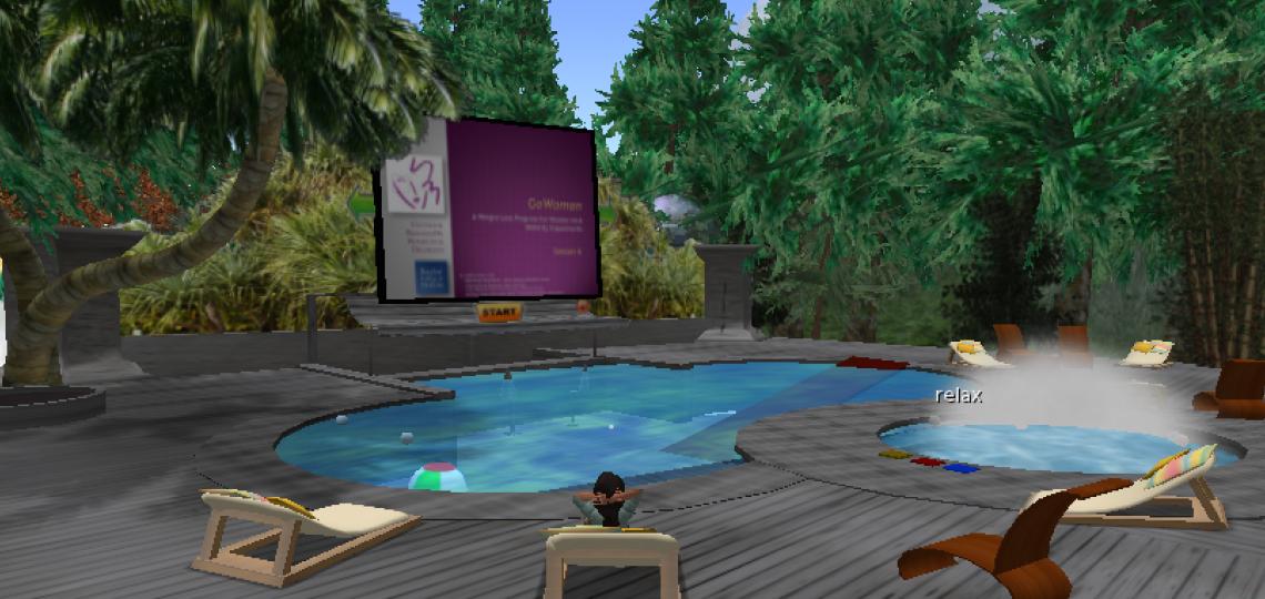 GoWoman Island's Pool