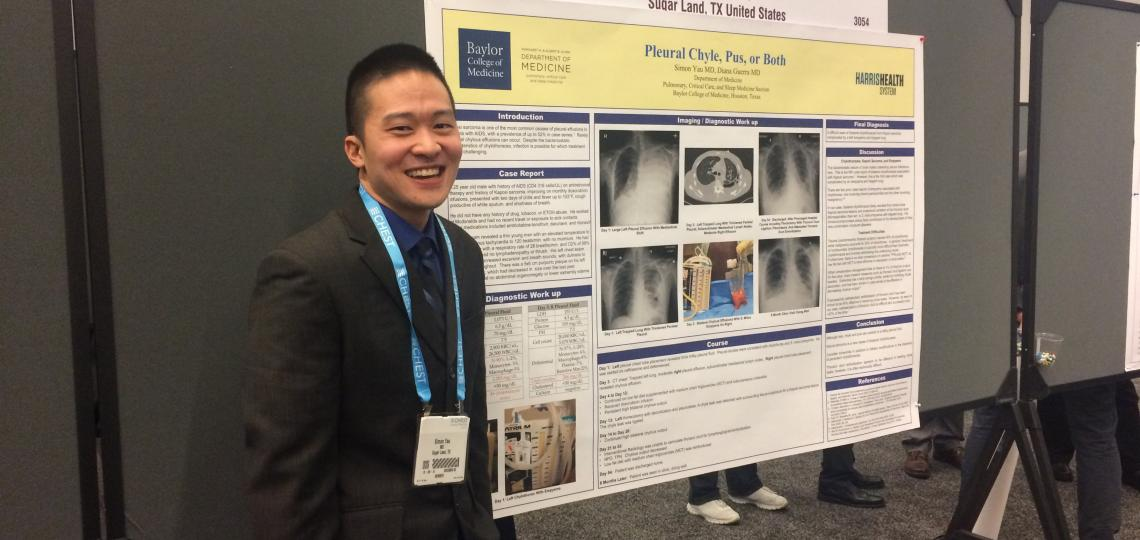 Dr Yau presents at CHEST