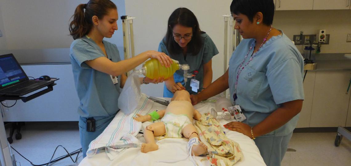 PL1 Interns, Lauren Krenk, Vathsala Ariyaratna and Kirsty Hillier.